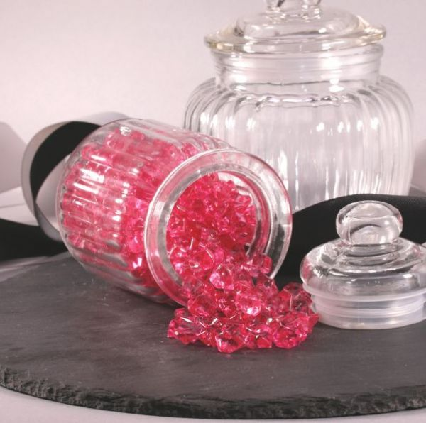 Small Crystal Stones Cerise 280g